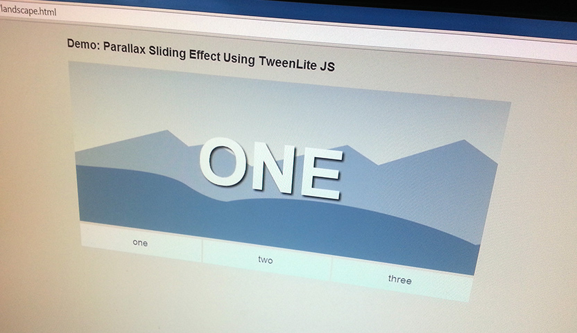 Tabbed Slider with Parallax Scrolling Effects Using GSAP - Wooster